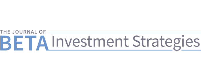 The Journal of Index Investing