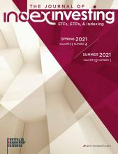 The Journal of Index Investing: 11-12 (4-1)