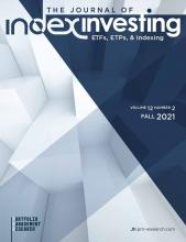 The Journal of Index Investing: 12 (2)